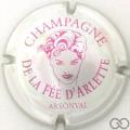 Champagne capsule 4 Métal et rose