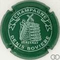Champagne capsule 25 Vert et blanc