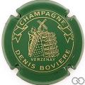 Champagne capsule 7 Vert et or