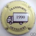 Champagne capsule 39 1990, jaune pâle