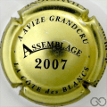 Champagne capsule 9.b Assemblage, 2007