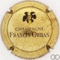 Champagne capsule 5 Or-bronze et noir