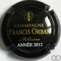 Champagne capsule 11.a Millésime 2012
