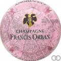 Champagne capsule 9 Rose, noir et or