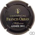 Champagne capsule 11 Millésime 2011