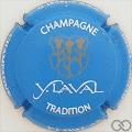 Champagne capsule 5.a Tradition, bleu et blanc