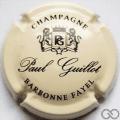 Champagne capsule A1.b Crème pâle et noir