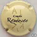 Champagne capsule 13.d Crème, AL vert pâle