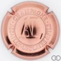 Champagne capsule 11 Estampée, rosé