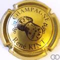 Champagne capsule 18 Or et noir