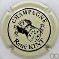 Champagne capsule 11 Crème, petites lettres