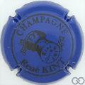 Champagne capsule 4 Bleu et noir
