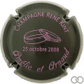 Champagne capsule H6704 Noir et rose