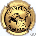 Champagne capsule 1 Bronze et noir