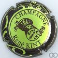 Champagne capsule 14 Vert pâle et marron