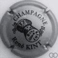 Champagne capsule 20.a Gris foncé et noir, sans cercle