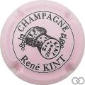 Champagne capsule 17 Rose pâle et noir