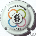 Champagne capsule  Grande semaine, 2016