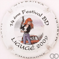 Champagne capsule 39.b Ligugé, 2009