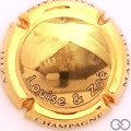 Champagne capsule A17.a Plaqué or
