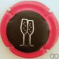 Champagne capsule 1165.e Contour fuchsia