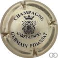 Champagne capsule 13.a Or pâle et noir