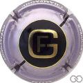 Champagne capsule 3 Contour violet pâle
