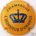 Champagne capsule 1 Orange et bleu