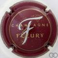 Champagne capsule 19 Bordeaux, F argent