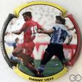 Champagne capsule A18.b Danny Veyt et Maradona, contour triocolor