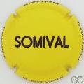 Champagne capsule 146 Somival, en relief