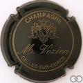 Champagne capsule 12.a Noir et or pâle