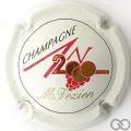 Champagne capsule 613 An 2000, sur n° 613, blanc