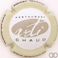 Champagne capsule 72 Arti Chaud contour crème