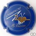 Champagne capsule 616 An 2000, n°616, bleu