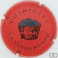 Champagne capsule 6 Rouge, grand panier