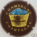 Champagne capsule 7 Marron, panier extra large