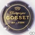 Champagne capsule 21 Marron, écriture or