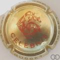Champagne capsule 38.a Or pâle et rose