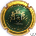 Champagne capsule 13.a Vert métallisé, contour or
