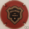 Champagne capsule 34 Bordeaux, verso or
