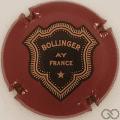 Champagne capsule 35 Bordeaux, lettres épaisses