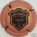 Champagne capsule 50.b Rosé foncé, 32mm, verso or