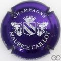 Champagne capsule 4 Violet métallisé et blanc