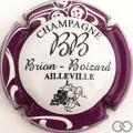 Champagne capsule  Blanc, contour sparflex violet
