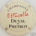 Champagne capsule 7 Fond crème