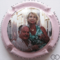 Champagne capsule 39.i 10/10 contour rose