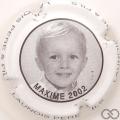 Champagne capsule 15 Maxime, 2002