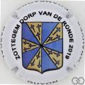 Champagne capsule 24.a Zottegem, Dorp van de Ronde 2019