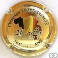 Champagne capsule 6.c Doré à l'or fin